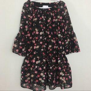 Children's place floral dress size 5/6
